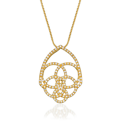 The Gothic Diamonds Hamsa - small
