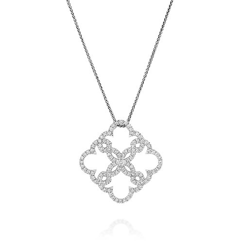 Diamonds Lace Pendant