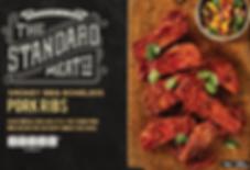 TSMC Smokey BBQ Boneless Pork Ribs 1kg.P