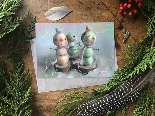 Card :: Let it Snow