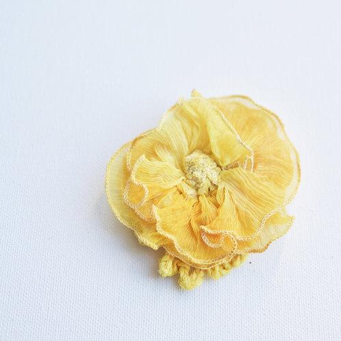 fleur magnétique en soie