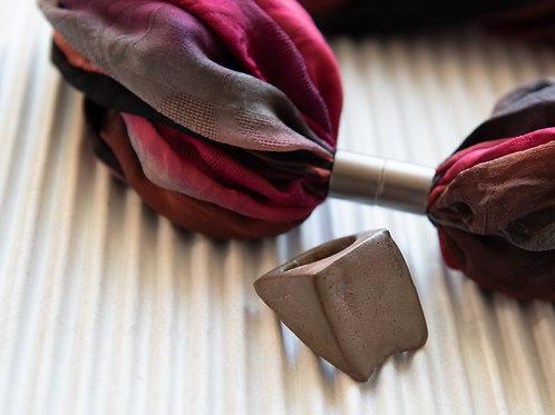 Schmuckperle aus Keramik