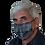 Thumbnail: Gesichtsmaske aus Hanf/Seide, handbemalt