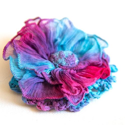 fleur de soie magnétique