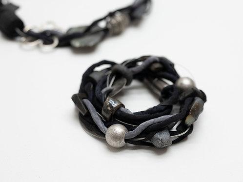 Bracelet, avec céramique, métal, avec fermoir magnétique