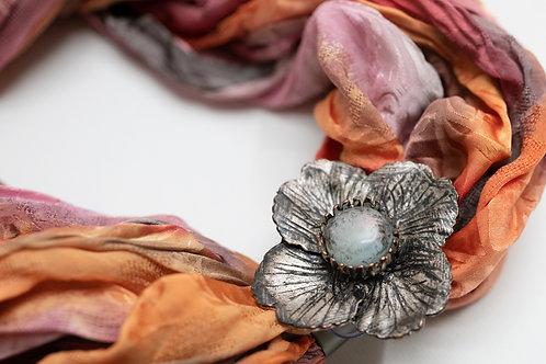Magnetbrosche Flora, ca. 4.5 cm