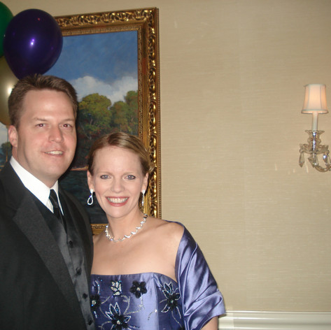 At the Gainesville Symphony Ball.