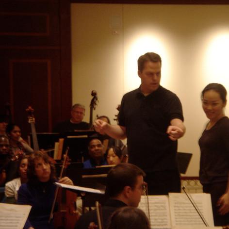 Teaching at the International Conductors Workshop in Georgia.
