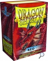 Dragon Shields: (100) Red
