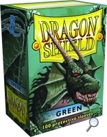 Dragon Shields: (100) Green