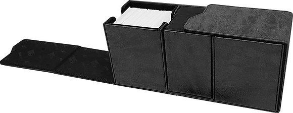Alcove Vault Deck Box: Suede Collection - Jet