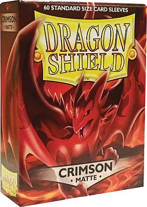 Dragon Shields: (60) Matte Crimson
