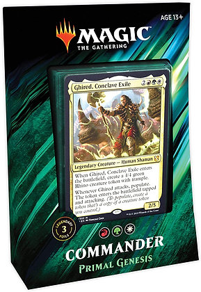 Commander 2019 Primal Genesis Deck