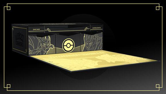 Pokemon TCG: Sword & Shield Ultra-Premium Collection - Zacian & Zamazenta