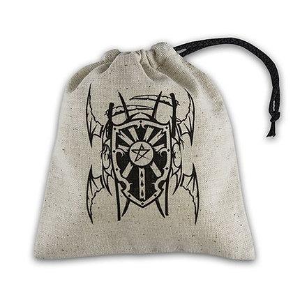 Dice Bag: Vampire Beige/Black
