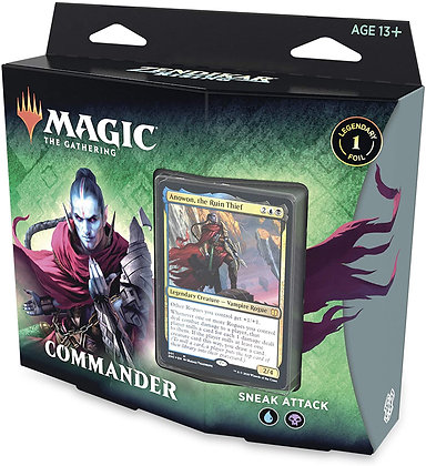 Zendikar Rising Commander Deck – Sneak Attack