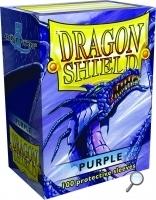 Dragon Shields: (100) Purple