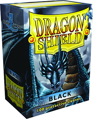 Dragon Shields: (100) Black