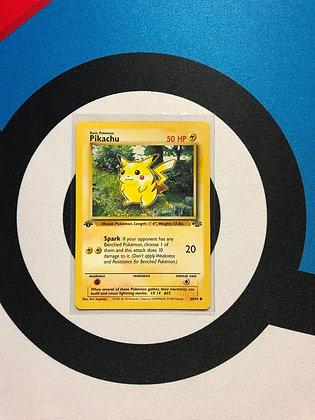 Pikachu (Jungle 1st Edition)