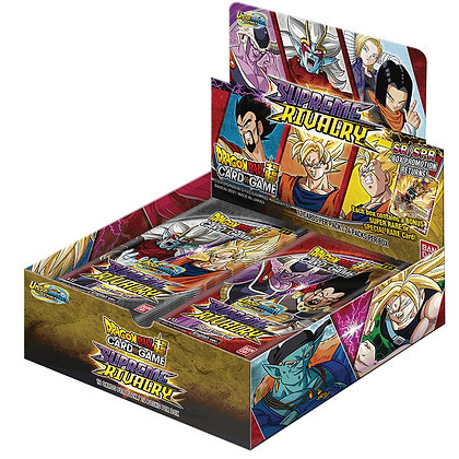 Unison Warriors - Set 4 Supreme Rivalry Booster Display