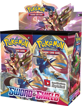 Pokemon TCG: Sword & Shield Booster Display Box
