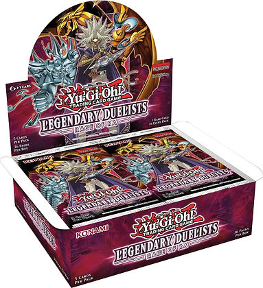 Yu-Gi-Oh! TCG: Legendary Duelists Season 2 Box Display