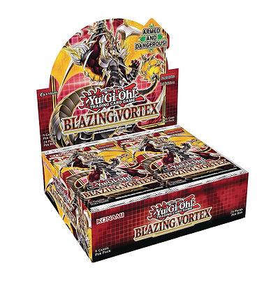 Yu-Gi-Oh! TCG: Blazing Vortex Booster Display