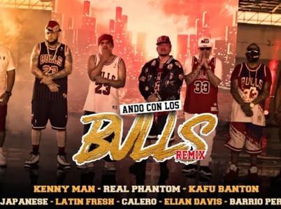 """Kenny Man lanza el remix de """"Ando con los Bulls"""""""