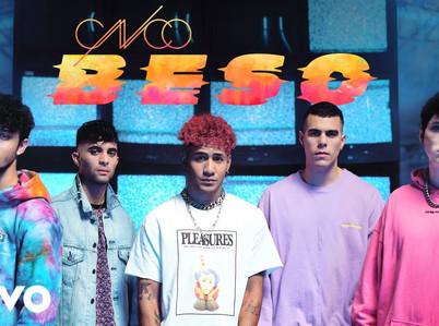 """CNCO estrenará oficialmente """"Beso"""" en los VMA 2020"""