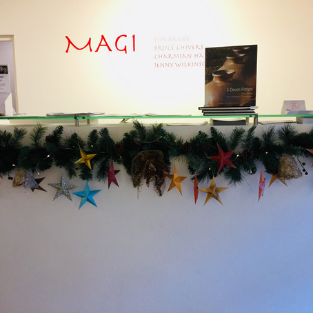 Christmas: Origami Star Decorations!