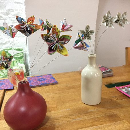 Modular Origami and a munch?!