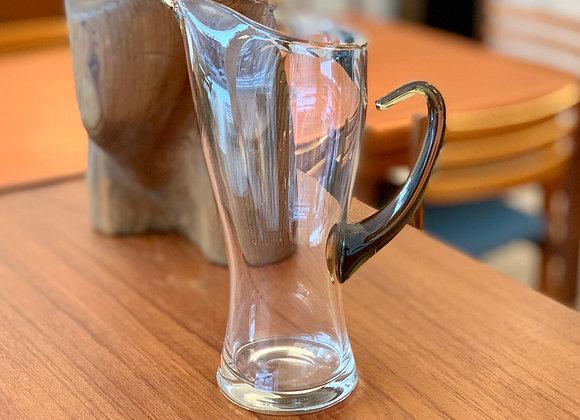 Carafe en verre soufflé Vintage