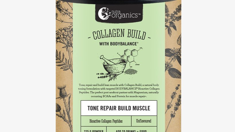 NutraOrganics Collagen Build