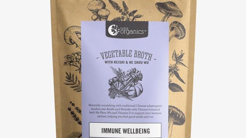 NutraOrganics Vegetable Broth Mushroom Veggie 100gm