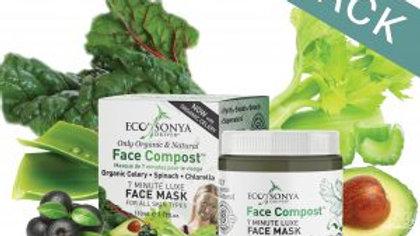 ECOTAN Face Compost Mask