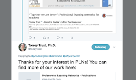 Professional Learning Networks - What's the Value?