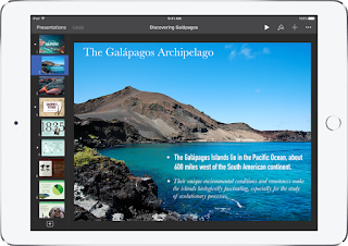iPad Basics for Teachers (part 2) - the Apps Straight Out of the Box - Keynote