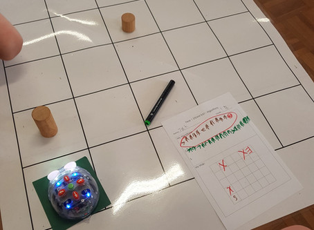 Coding in the Classroom - Using BlueBots