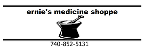 Ernie's Medicine Shoppe Logo