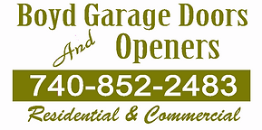 Boyd Garage Doors and Openers Logo