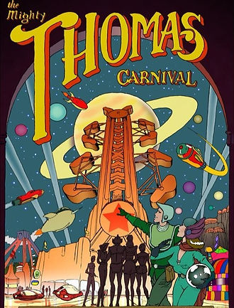 The Mighty Thomas Carnival Poster