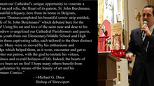Endorsement from Bishop Michael G. Duca of Shreveport