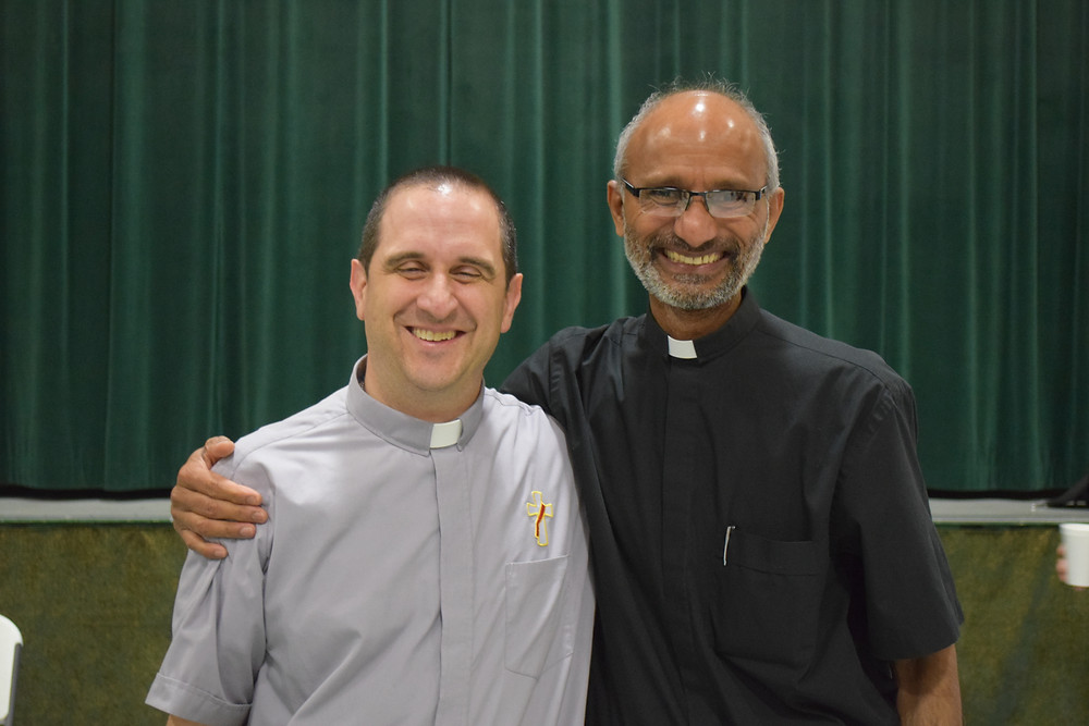 Our parochial vicar, Fr. J.P. just celebrated is 25th anniversary as a priest