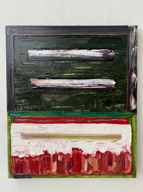 Verde, Blanco y Rothko