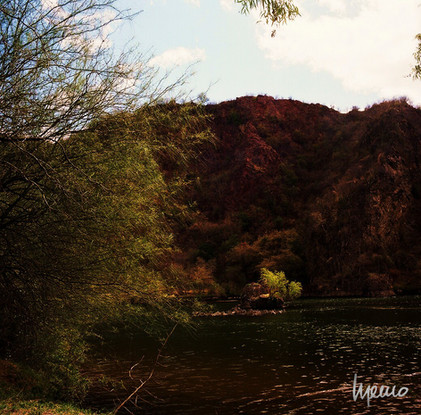 Río Yaqui a su paso por Soyopa