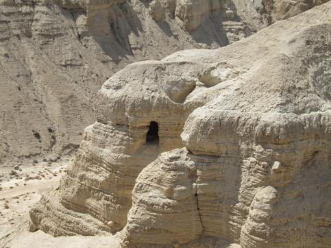 ISRAEL. CUEVAS DEL QUMRAM.