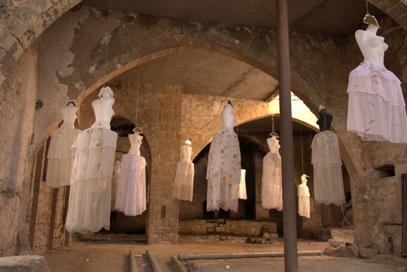 ISRAEL. Ciudad vieja de Jaffa. INSTALACIÓN.