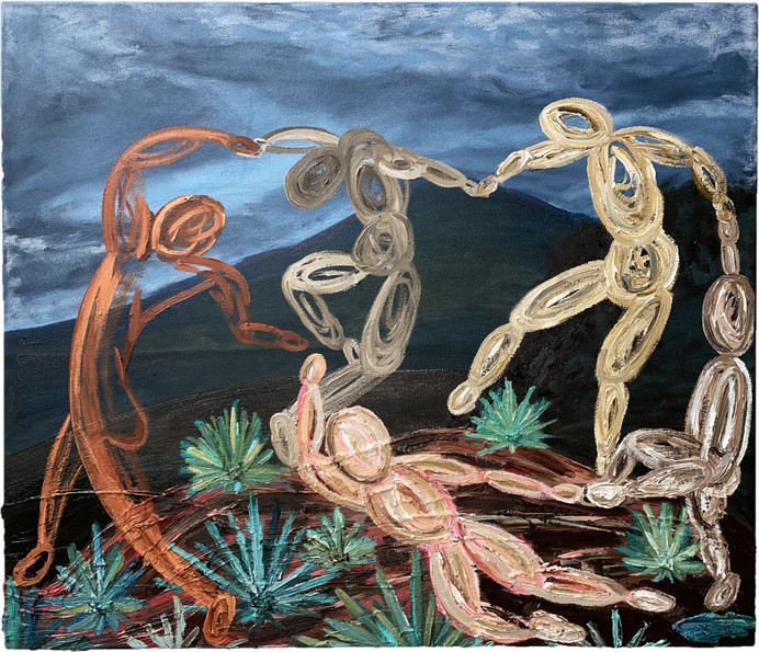 El baile de Matisse en Tequila, Jalisco.