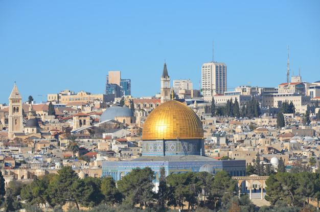 TIERRA SANTA. Jerusalén. DESDE EL MONTE DE LOS OLIVOS.