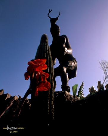 Monumento al danzante Yaqui del Venado, Ciudad Obregón, Cajeme